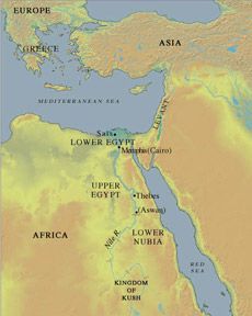 Artfall The New Kingdom In Egypt - Map of egypt during the new kingdom